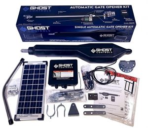 ghost controls solar gate opener