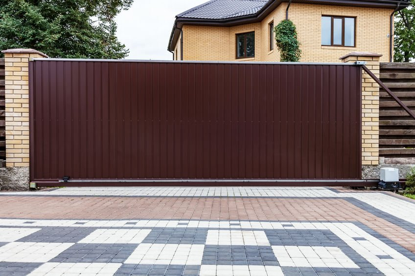 sliding gate for saftey and security