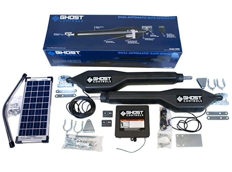 Ghost Controls TDS2XP heavy duty solar gate opener for heavy gates